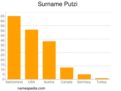 Surname Putzi