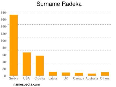 Surname Radeka