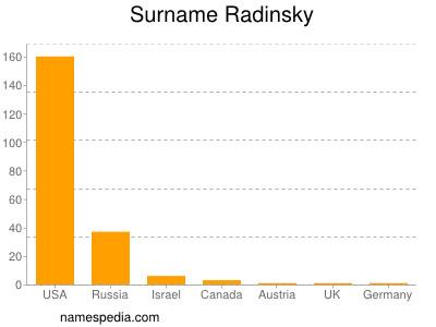 Surname Radinsky