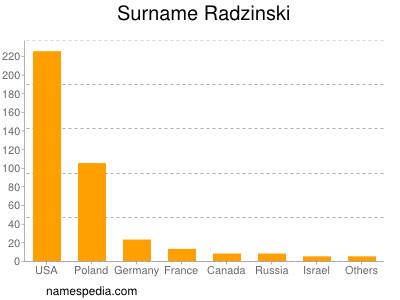 Surname Radzinski