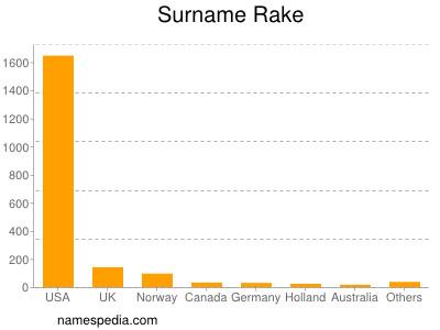 Surname Rake