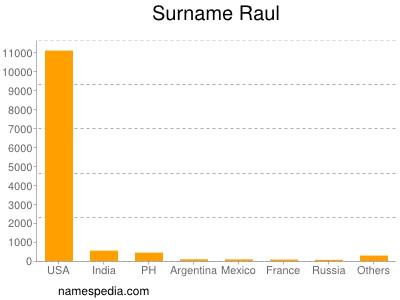 Surname Raul