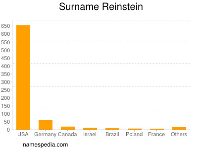 Surname Reinstein