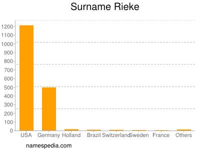 Familiennamen Rieke
