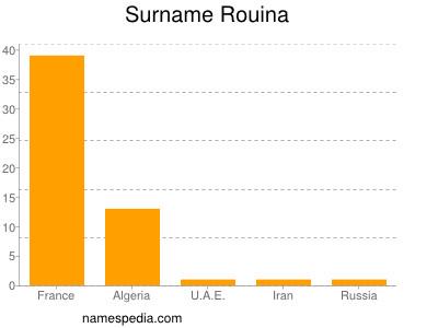 Surname Rouina