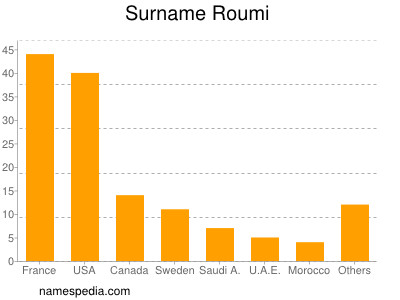 Familiennamen Roumi