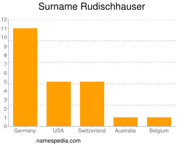Familiennamen Rudischhauser