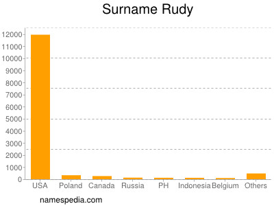 Surname Rudy