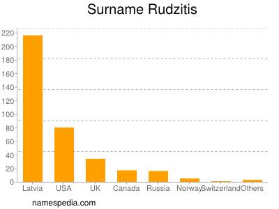 Surname Rudzitis