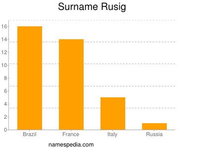 Surname Rusig