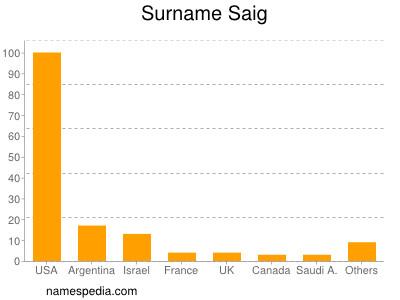 Surname Saig