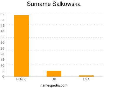 Surname Salkowska
