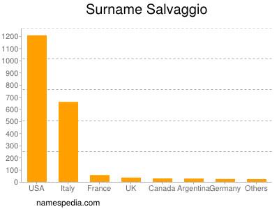 Surname Salvaggio