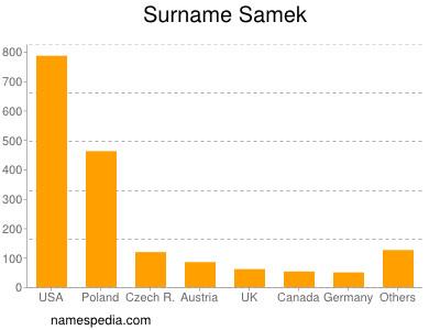 Surname Samek