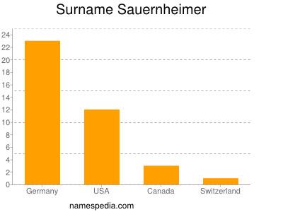 Surname Sauernheimer