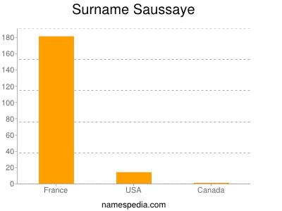 Surname Saussaye