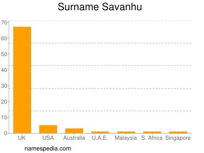 Surname Savanhu