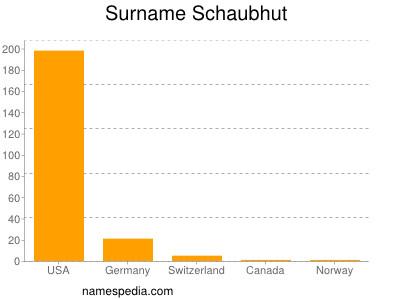Surname Schaubhut