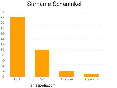 Familiennamen Schaumkel
