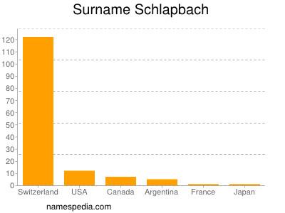 Surname Schlapbach