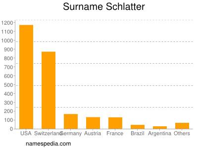 Surname Schlatter