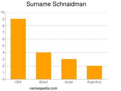 Surname Schnaidman
