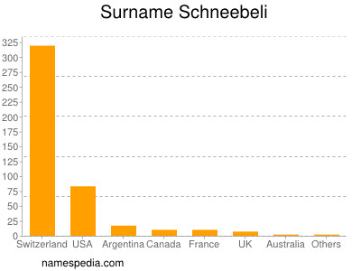 Surname Schneebeli