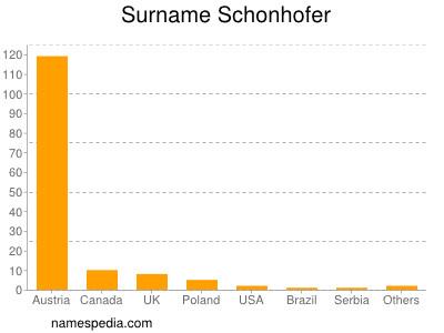 Surname Schonhofer