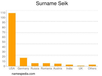Surname Seik