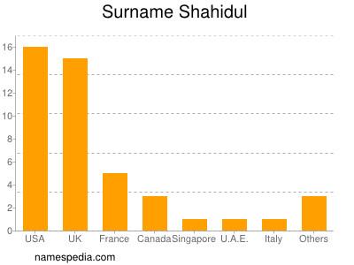 Surname Shahidul