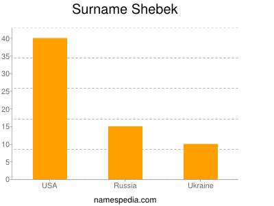Surname Shebek