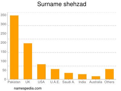 Surname Shehzad
