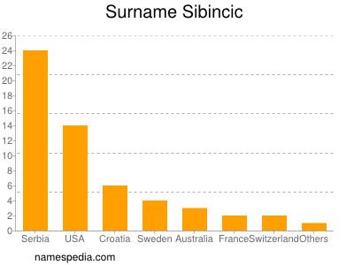 Surname Sibincic