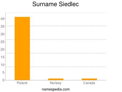 Familiennamen Siedlec