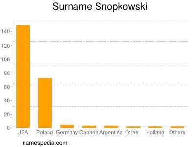 Surname Snopkowski