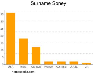 Surname Soney