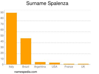 Surname Spalenza