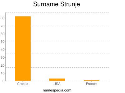 Surname Strunje