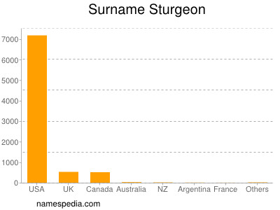 Surname Sturgeon