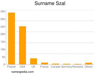 Familiennamen Szal