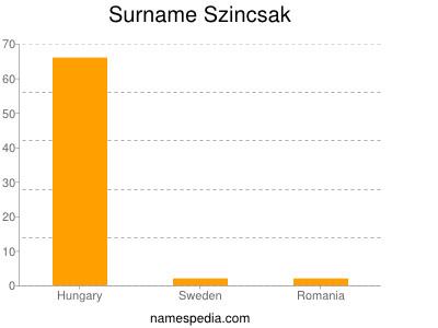 Familiennamen Szincsak