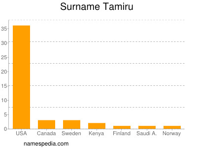 Surname Tamiru