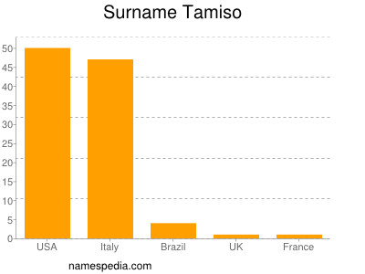 Surname Tamiso
