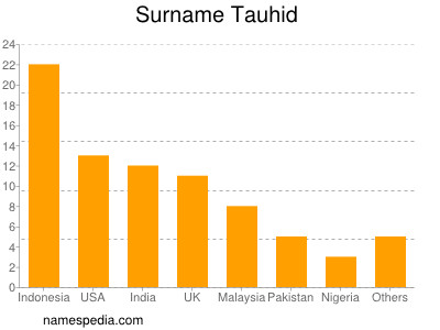 Surname Tauhid