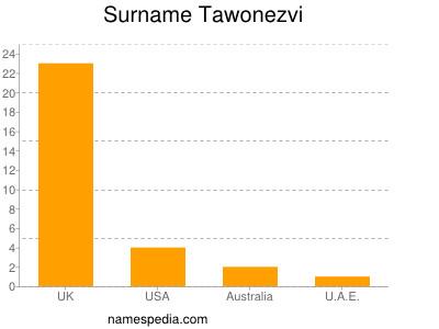 Surname Tawonezvi