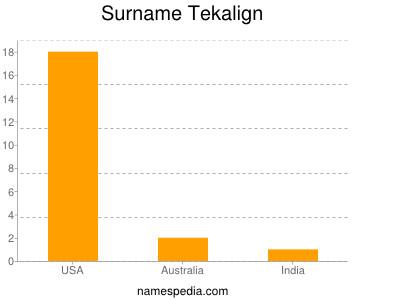 Surname Tekalign