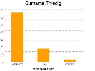Surname Thiedig