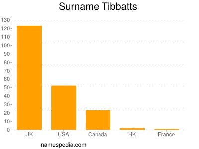 Surname Tibbatts