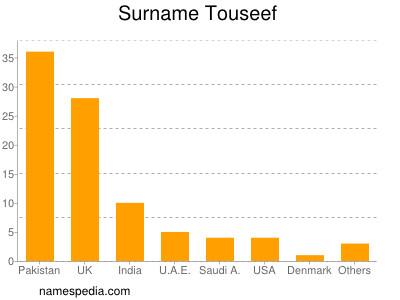 Surname Touseef