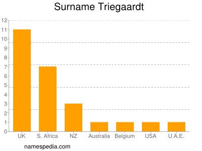 Surname Triegaardt